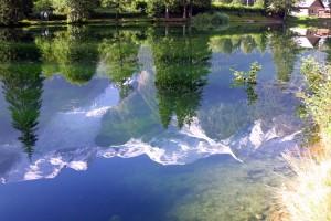 Lac des Gaillands, Chamonix